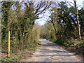 TM3958 : Priory Road, Snape by Geographer