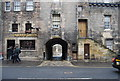 NT2673 : Old Tolbooth Wynd and Tolbooth Tavern by N Chadwick