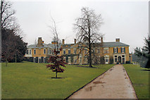 TQ1352 : Polesden Lacey in the wet by Stuart Logan