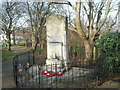 TQ4477 : Plumstead Common War Memorial by Marathon