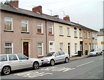 ST3288 : Newport : Dean Street houses south of Junction Road by Jaggery