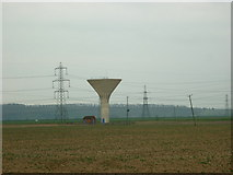 SE8317 : The water tower on Carr Lane by Ian S