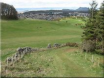 NT2466 : Edinburgh from Hillend by M J Richardson