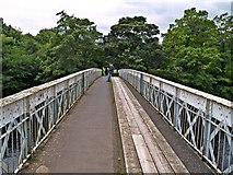 NZ0416 : Crossing the Deepdale Aqueduct by Chris McAuley