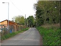 SO8480 : Lea Lane, Cookley by P L Chadwick
