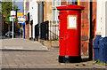 J3573 : Pillar box, Belfast by Albert Bridge