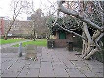 TQ3282 : William Blake's gravestone (1), Bunhill Fields by Rich Tea