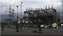 SK5802 : Eastern Blvd electricity substation by Mat Fascione