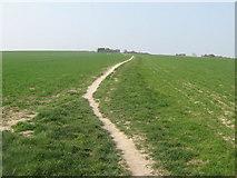 TR3748 : Footpath to Walmer by David Anstiss