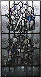 TQ2776 : Christ Church & St Stephen, Battersea Park Road - Stained glass window by John Salmon