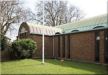 TQ2776 : Christ Church & St Stephen, Battersea Park Road by John Salmon