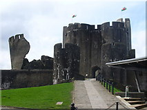ST1587 : Caerphilly Castle by Colin Smith