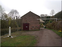 SK3155 : Disused railway trail towards warehouse on Cromford Canal by JThomas