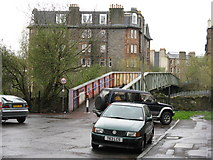 NT2774 : Crawford Bridge from Albion Terrace by M J Richardson