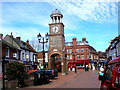 SP9501 : Chesham:  Clock tower by Dr Neil Clifton