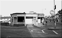 SU1484 : Empty shop units awaiting demolition, Commercial Road, Swindon by P L Chadwick