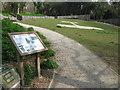 TR3242 : Information Board near Bleriot Memorial (2) by David Anstiss