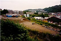 NM8529 : The 1994 View of Engine Shed Site at Oban by Rob Newman