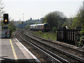 TQ2672 : Tracks to the south of Earlsfield station by Stephen Craven