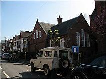 TQ2572 : St Luke's hall, Strathmore Road by Stephen Craven