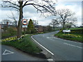 SJ8966 : Buxton Road at Church Lane junction by Colin Pyle