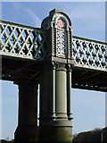 TQ1977 : Kew Railway Bridge: unexpected architectural detail by Stefan Czapski
