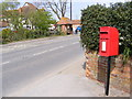 TM3555 : B1069 Woodbridge Road & Post Office Woodbridge Road Postbox by Adrian Cable