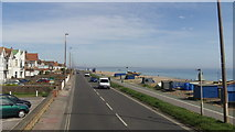 TQ1602 : The Coast Road (A259) at East Worthing, West Sussex by John Fielding