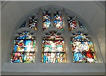 SP5105 : Oxford's Christ Church Cathedral: stained glass window (x) by Basher Eyre