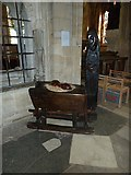 SP5105 : Oxford's Christ Church Cathedral: crib scene by Basher Eyre