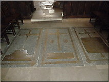 SP5105 : Oxford's Christ Church Cathedral: floor memorials (g) by Basher Eyre