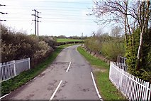SP5720 : Langford Lane by Bicester by Steve Daniels