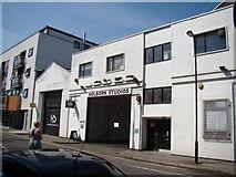 TQ3283 : Holborn Studios, Eagle Wharf Road by Robert Lamb