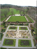 NJ0459 : Sunken Garden, Grant Park, Forres by Derek Ashman