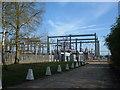 SP7525 : East Claydon Substation by Mr Biz