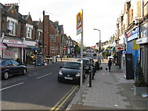 TQ2383 : Local shops on College Road by Peter Whatley