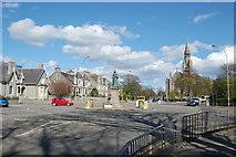 NJ9205 : Queen's Roundabout, Aberdeen by Bill Harrison