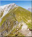NN1666 : The Devil's Ridge, Sgurr a' Mhaim by wfmillar