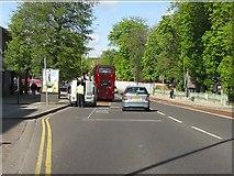 TQ1785 : Wembley - Harrow Road by Peter Whatley