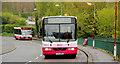 J3875 : Two buses, east Belfast by Albert Bridge