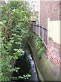 TQ3268 : Boswell Road: looking downstream at the crossing of Norbury Brook by Christopher Hilton