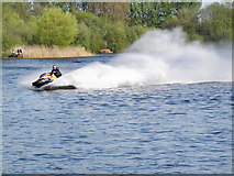 SJ7993 : Trafford Water Sports Centre, Sale Water Park by David Dixon