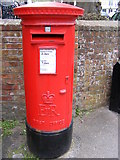 TM2863 : Market Hill Postbox by Adrian Cable