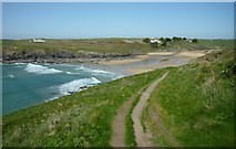 SW6619 : Poldhu Cove by Maurice D Budden