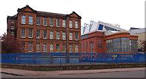 NS5564 : Ibrox Public School, Ibrox, Glasgow by wfmillar