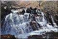 NS0045 : Waterfall in Sannox Burn by Ashley Dace