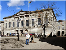 SJ9223 : Shire Hall, Market Square, Stafford by David Dixon