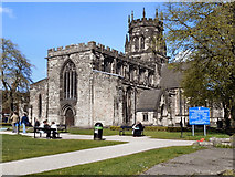 SJ9223 : The Collegiate Church of St Mary, Stafford by David Dixon