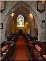 SO9422 : Nave, St Mary's Church, Cheltenham by Brian Robert Marshall