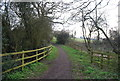 TQ2194 : Dollis Valley Greenwalk, Moat Mount Open Space by N Chadwick